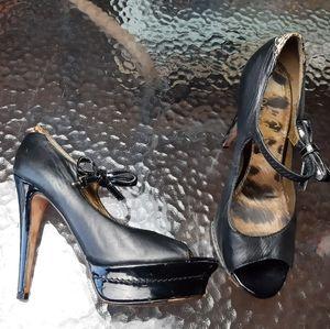 Sam Edelman pumps - open toe - high heels